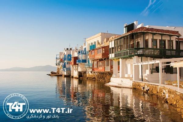 تور یونان حرکت از مشهد