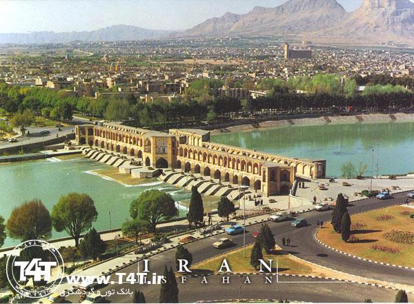 تور اصفهان با قطار از مشهد