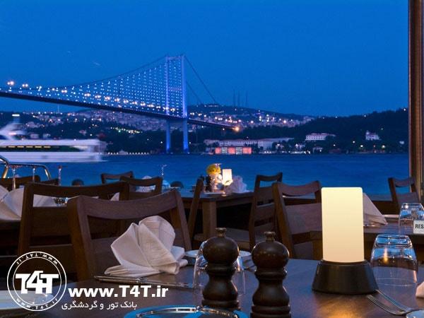 تور استانبول حرکت از مشهد
