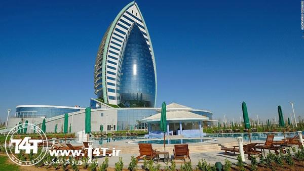 تور ترکمنستان عشق آباد از مشهد