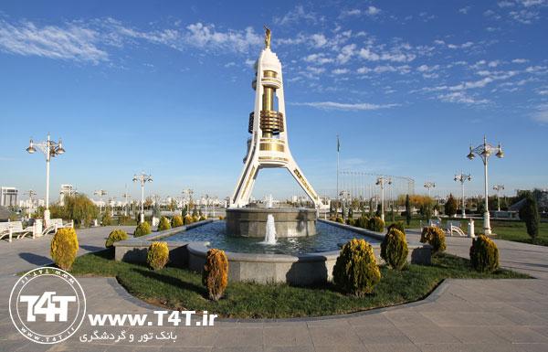 قیمت تور زمینی عشق آباد ترکمنستان از مشهد