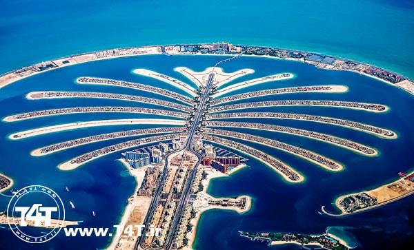دیدنی های تور دبی از مشهد جزیره نخل