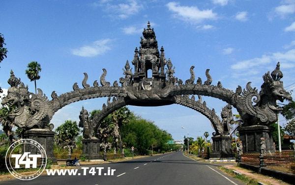 جاذبه های توریستی گردشگری مکان های دیدنی بالی