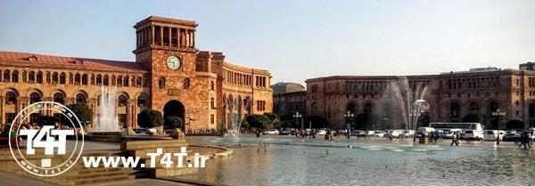 قیمت تور ایروان ارمنستان پرواز از مشهد