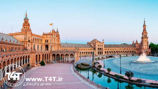 آفر تور اسپانیا از مشهد