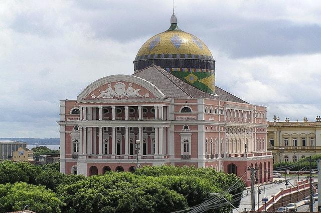 تور برزیل حرکت از مشهد تئاتر آمازوناس Teatro Amazonas