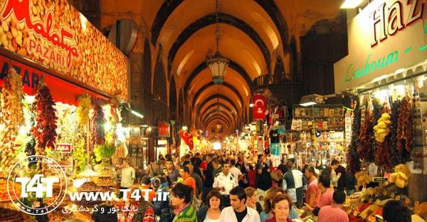 دیدنی های تور استانبول از تهران و مشهد