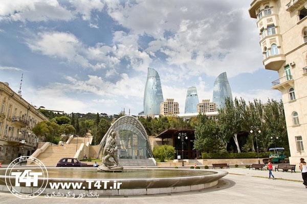 تور باکو 96 از مشهد