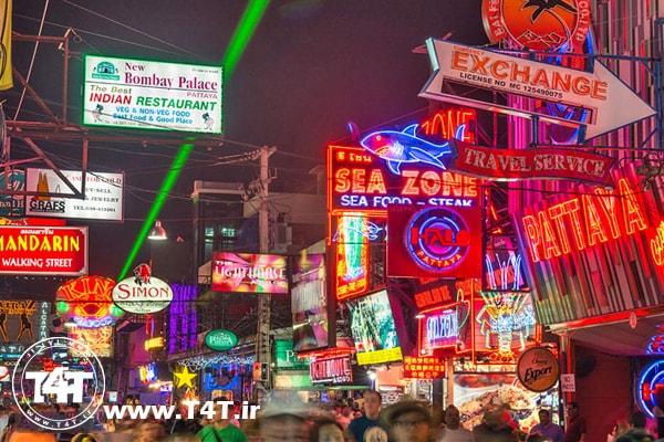 تور لحظه آخری تایلند از مشهد
