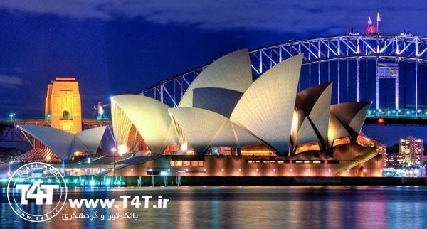 تور استرالیا پرواز از مشهد