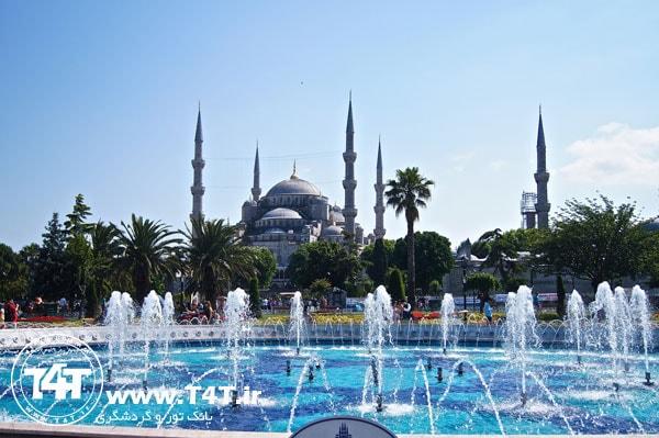 پرواز ترکیش از مشهد به استانبول