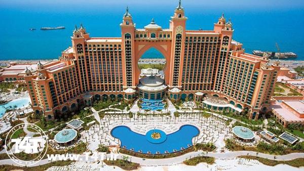 تور دبی پرواز از مشهد هتل آتلانتیس دبی