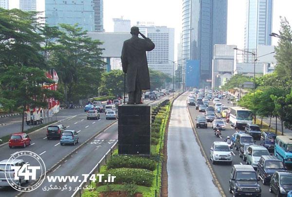 تور اندونزی جاکارتا از مشهد