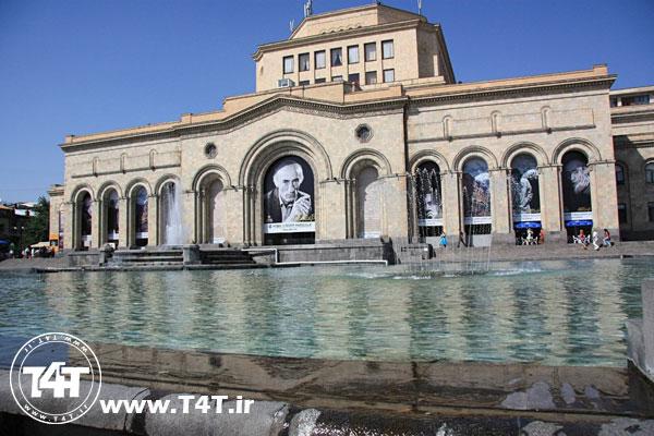 تور ارمنستان لحظه آخری پرواز از مشهد