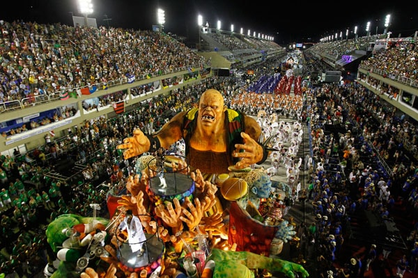 تور برزیل ارزان از مشهد جشن کارناوال ریودوژانیرو Rio Carnival