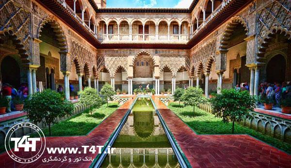 تور اسپانیا پرواز از مشهد