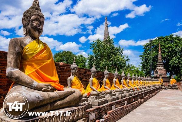 تور ترکیبی تایلند از مشهد