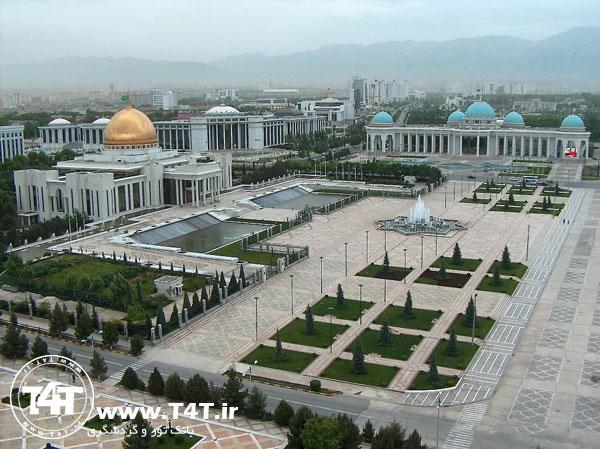 تور عشق آباد پرواز از مشهد