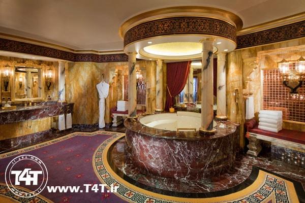 نرخ تور دبی از مشهد اتاق لوکس هتل برج العرب