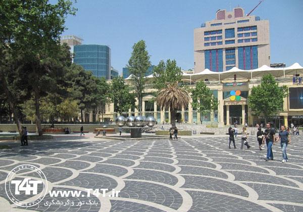 تور باکو آذربایجان از مشهد