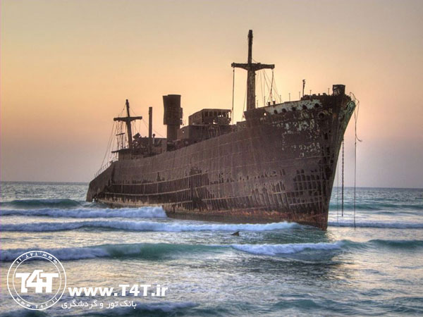 تور کیش از مشهد کشتی یونانی