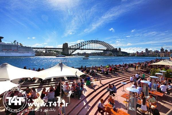 تور استرالیا حرکت از مشهد